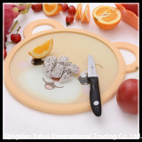 tempered glass placemat with soft silicone ring