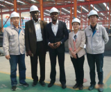 Nigeria customer visit
