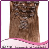 New Arrival Clip in Hair Virgin Remy Human Hair