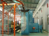 Iron gauze Powder coating spray line