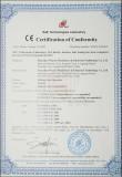 CE Certificate of Sliding Gate Operator