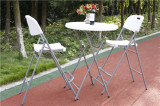 Cocktail table and chairs set