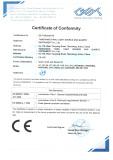 TIANLI certificate CE 2