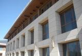 Granite facade cladding