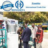 Running maize mill Zambia show