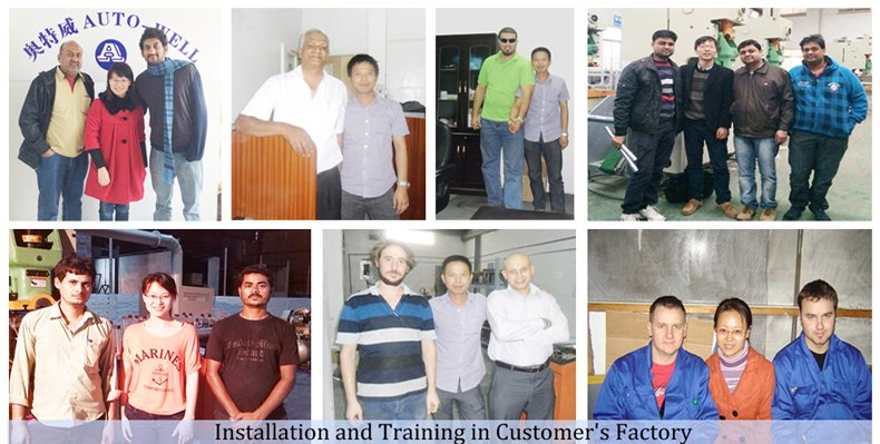 Installation in Customer′s Factory