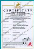 Wood chipper shredder CE certificate