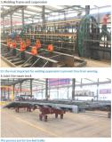 OBT factory of welding frame and joint the swan-neck