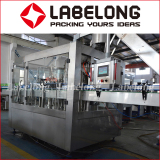 Full Automatic Glass Bottle Fruit Juice Beverage Bottling Machinery