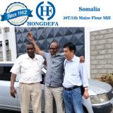 Somalia client visiting