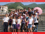 Office staff travel to Qingyuan tourist resort