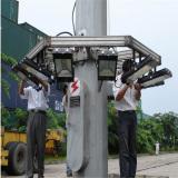 High mast installing