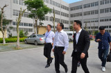 Lifei Li, vice mayor and his entourage to The Longsun research