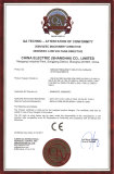 CE Certificate For Induction Furnace