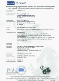 Certificate LED Rope light GS