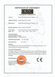 CE Certificate of WPC