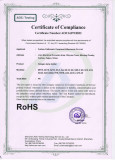 RoHS certification for halogen lampholder