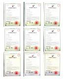 Certificates of patent