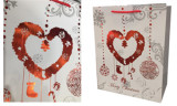 Paper bags - hot stamping on ivory paper and art paper