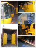 2 ton wheel loader shipment