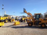 Our wheel loaders showed in African exhibition