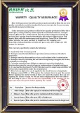 Bbier Warranty(3 years)