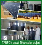 dubai 30kw solar system project