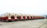 Congratulation for 30units bulk cement tanker semi trailer sell to Southeast Asia
