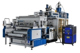 Double layer co-extrusion Stretch Film Machine