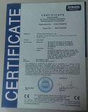 CE certificate for solar panel