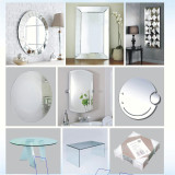 4, 5, 6, 8mm Silver Mirror for Decorative Mirror