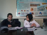 Mexico customer Joe line inspection visit jining hengwang negotiation