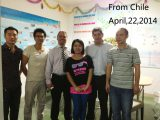 Chile customer visit our factory
