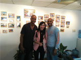 America Customer in Our Office with Sherry