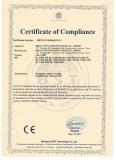 Certificate LED Tube CE LVD