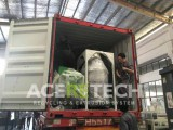 Cargo to Santiago, Chile - ACS-H300 / 80 compactor and pelletizing