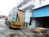 20ft container of machine and sublimation blanks or 40HQ