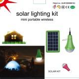 Global sunrise solar kit solar home lighting system solar energy new design