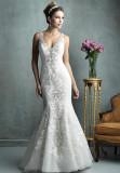 Organza and Lace Mermaid Wedding Dress (Dream-100024)