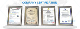 Quality and Manufacture Standard Certificates
