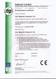 CE certificate of Magnetic Separator