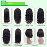 100% human hair lace wigs various styles high density full hair