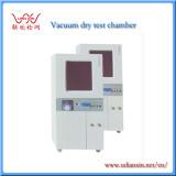 Vacuum dry test chamber