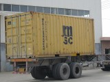 packing 3x20m at container
