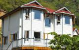 USA Popular Wood Aluminum Casement Windows for Villa