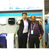 Our company participated in 2013 Guangzhou International Hotel Supplies Exhibition
