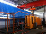 new powder coating line installed in Europe