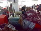 tent floor PE sewing