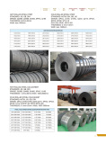 Hot Rolled Steel Strip and Steel Coils/Sheet