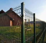 3D Welded Mesh Fence